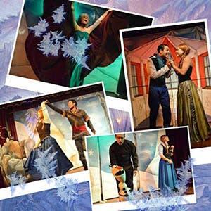 Afiche de Anna y Elsa un musical entre hielos