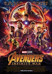 Afiche de Avengers: Infinity War