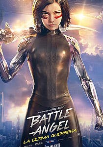 Afiche de Battle Angel: La última guerrera