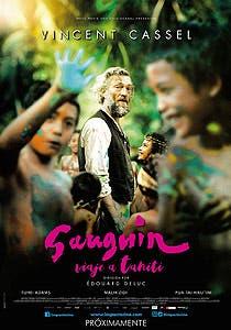 Afiche de Gauguin viaje a Tahiti