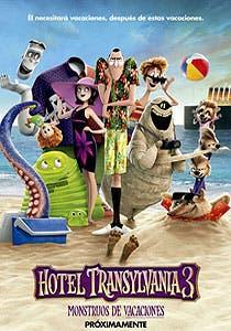 Afiche de Hotel Transylvania 3: Monstruos de vacaciones