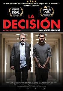 Afiche de La decisión