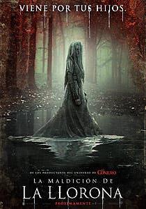 Afiche de La maldición de La Llorona