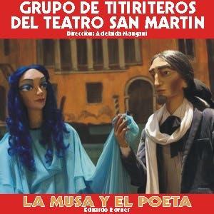 Afiche de La Musa y el Poeta
