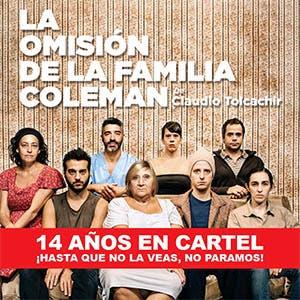 Afiche de La omisión de la familia Coleman