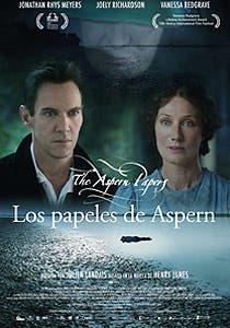 Afiche de Los papeles de Aspern