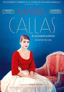 Afiche de María Callas: En sus propias palabras
