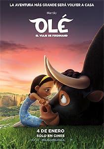 Afiche de Olé, el viaje de Ferdinand