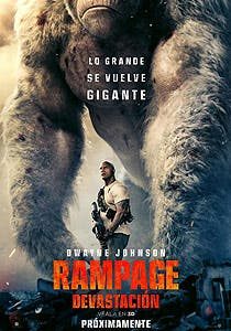 Afiche de Rampage: Devastación