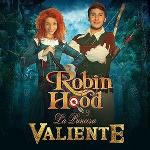 Afiche de Robin Hood y la Princesa Valiente