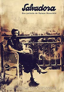 Afiche de Salvadora